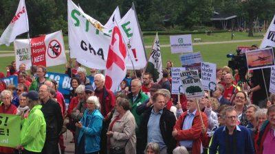 Protest tegen laagvliegroutes succesvol
